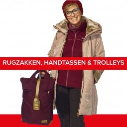 Rugzakken, handtassen & trolleys